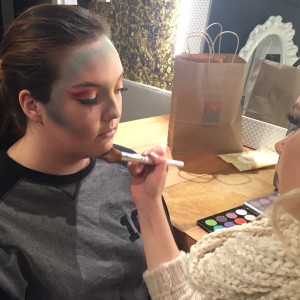 The Vanity's Makeup Artist in Training